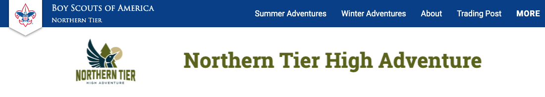 Northern Tier High Adventure Program